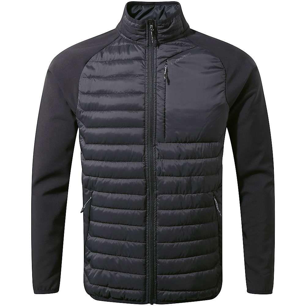 クラッグホッパーズ Craghoppers メンズ ジャケット アウター【voyager hybrid jacket】Black