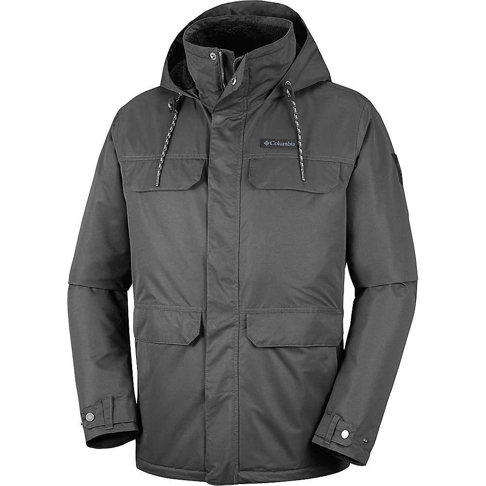 コロンビア Columbia メンズ ジャケット アウター【south canyon lined jacket】Shark/Black