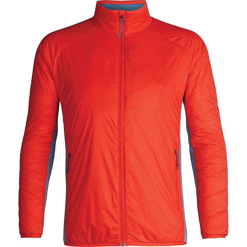 アイスブレーカー Icebreaker メンズ ジャケット アウター【hyperia lite hybrid jacket】Chili Red