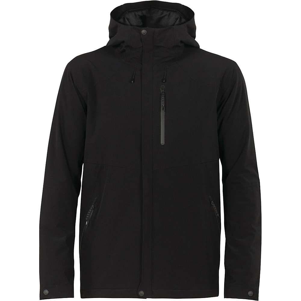 アイスブレーカー Icebreaker メンズ ジャケット フード アウター【stratus transcend hooded jacket】Black