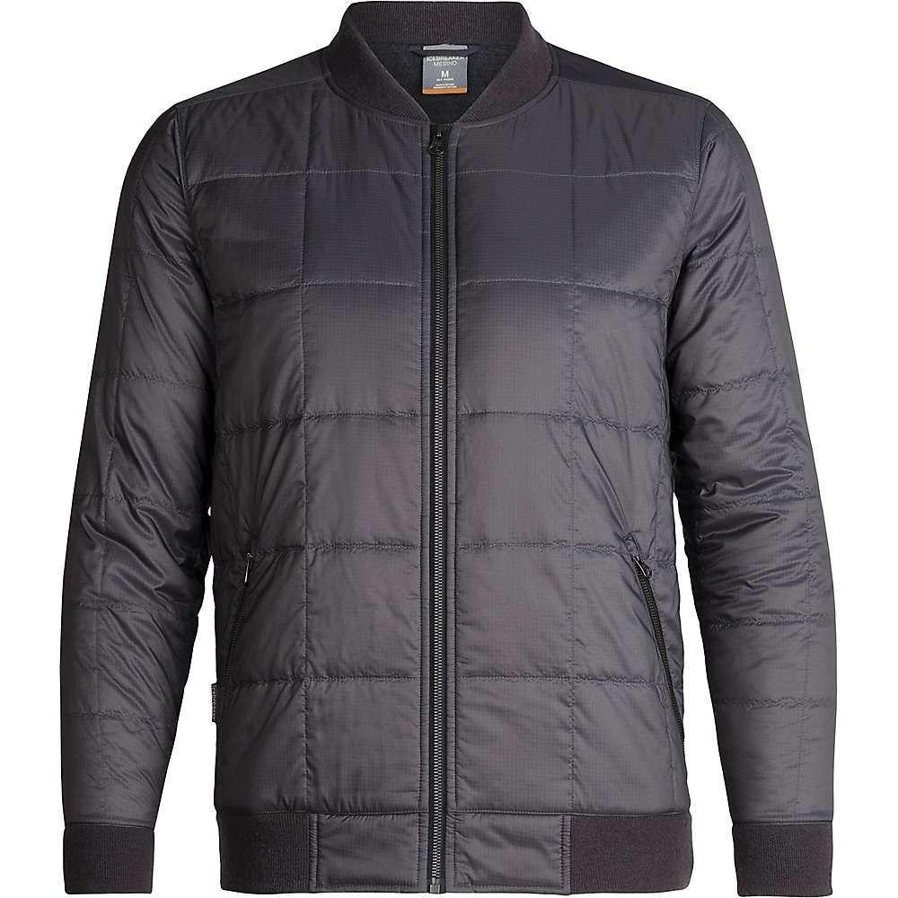 アイスブレーカー Icebreaker メンズ ジャケット アウター【venturous jacket】Monsoon/Jet Heather