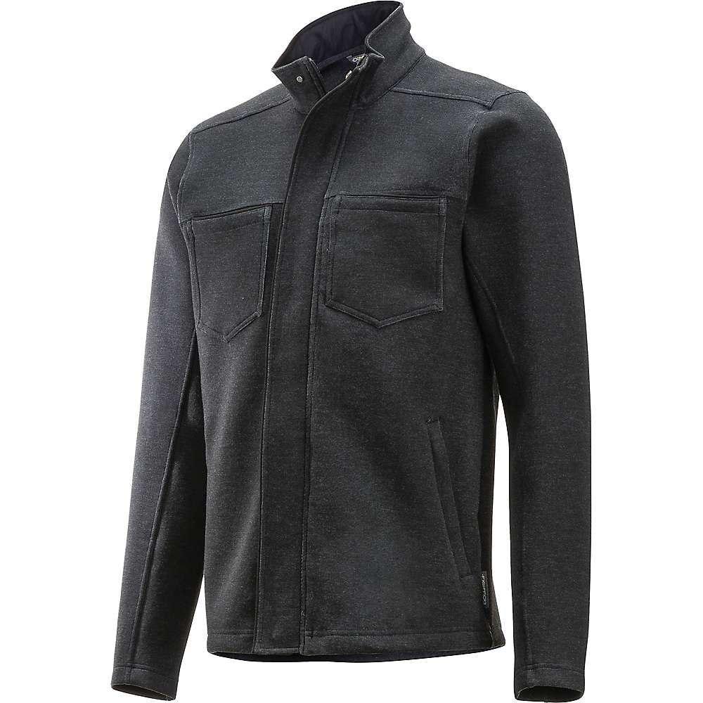 エクスオフィシオ ExOfficio メンズ ジャケット アウター【tofano full zip jacket】Black Heather