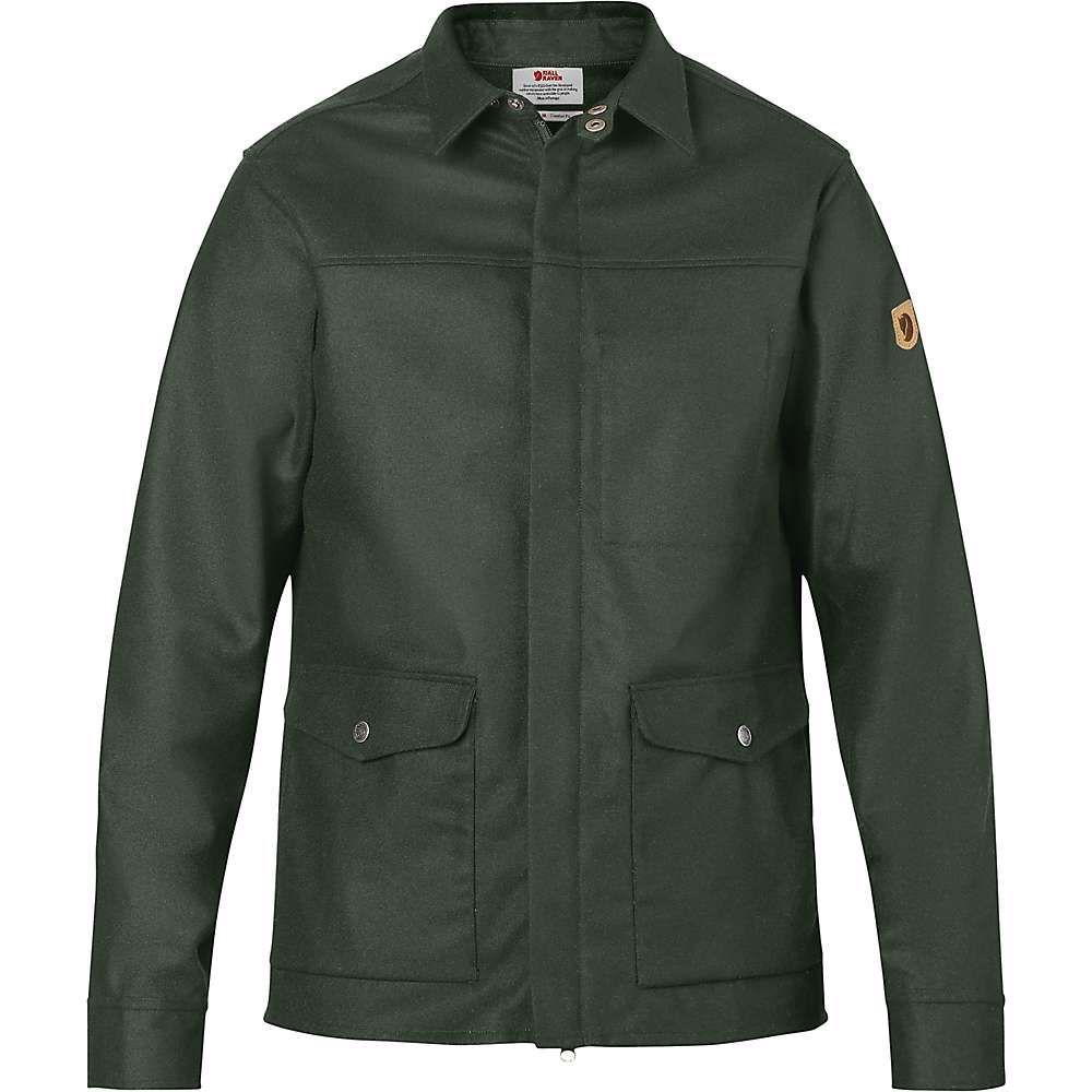 フェールラーベン Fjallraven メンズ ジャケット シャツジャケット アウター【greenland re-wool shirt jacket】Deep Forest