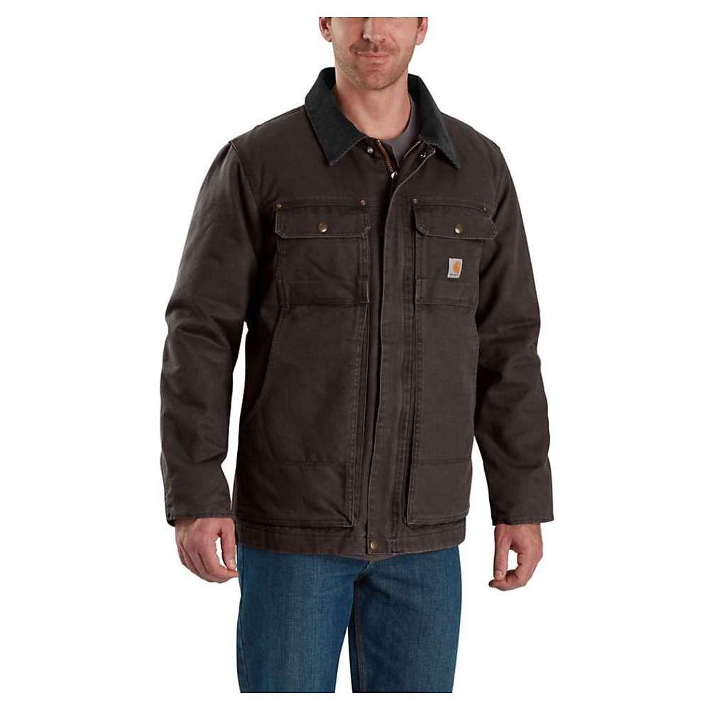 カーハート Carhartt メンズ コート アウター【full swing traditional coat】Dark Brown