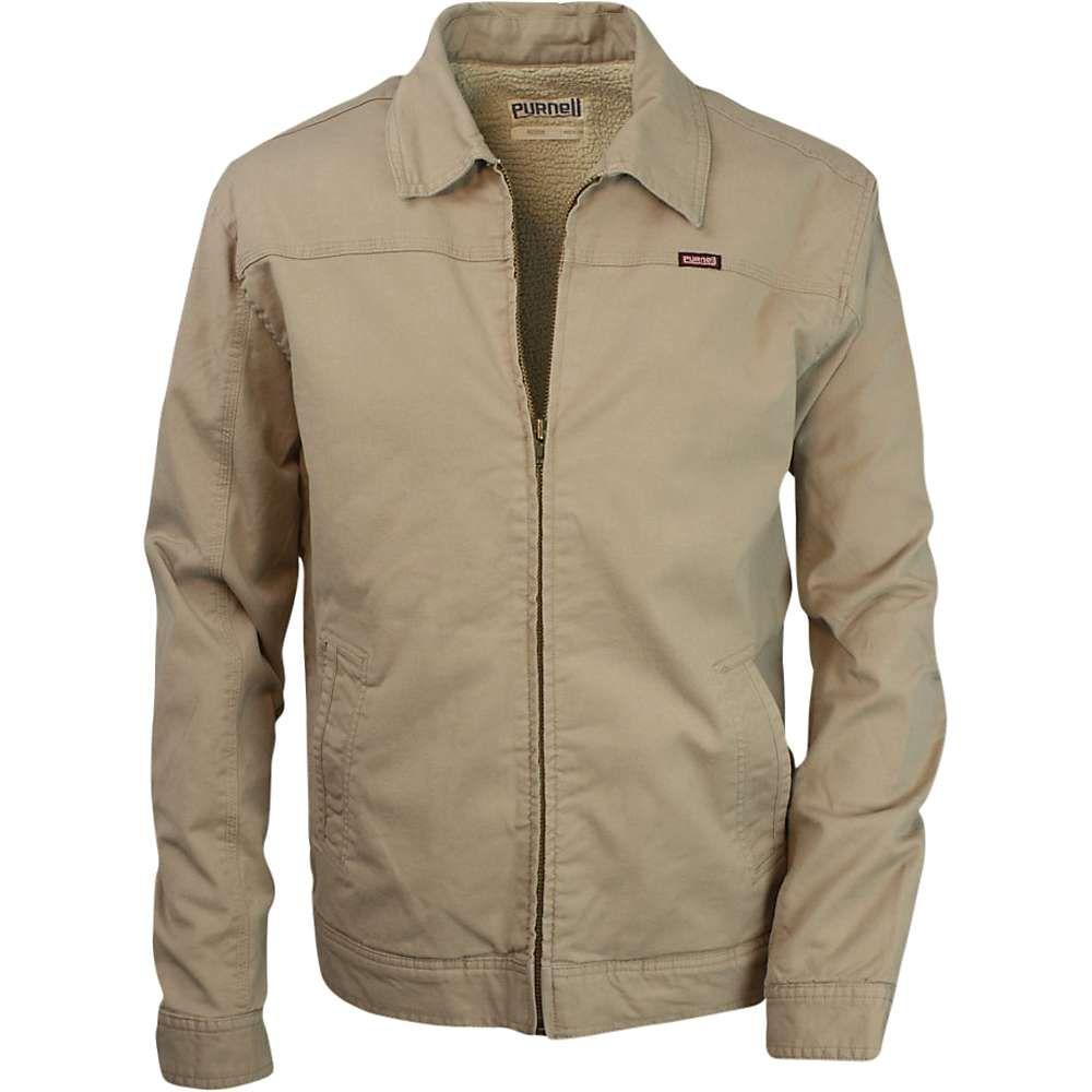 パーネル Purnell メンズ ジャケット アウター【canvas sherpa-lined jacket】Tan
