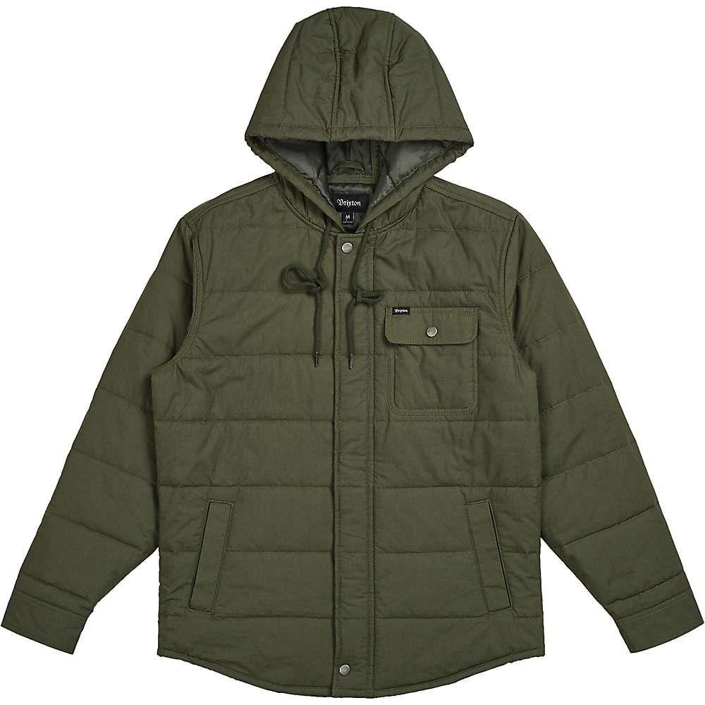 ブリクストン Brixton メンズ ジャケット アウター【cass hood jacket】Pine