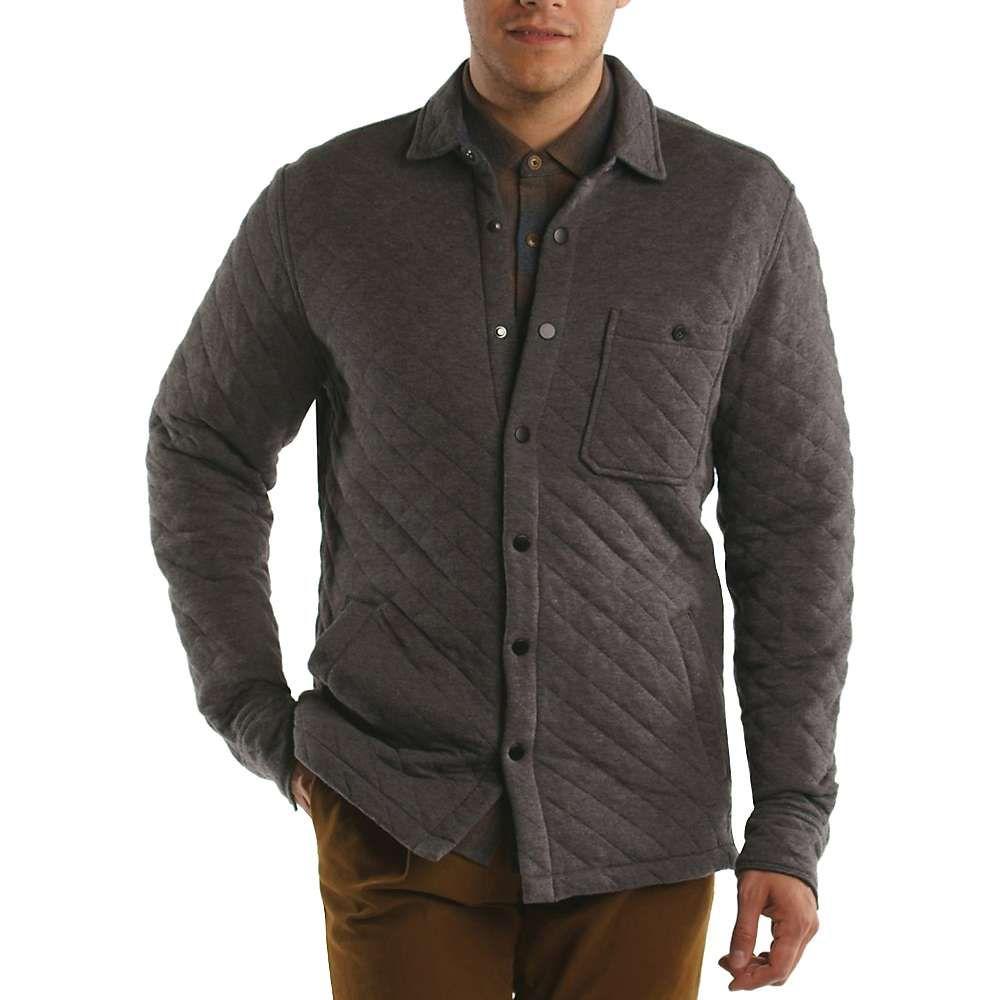 ジェレミア Jeremiah メンズ ジャケット シャツジャケット アウター【cameron jacquard heather shirt jacket】Flint Heather