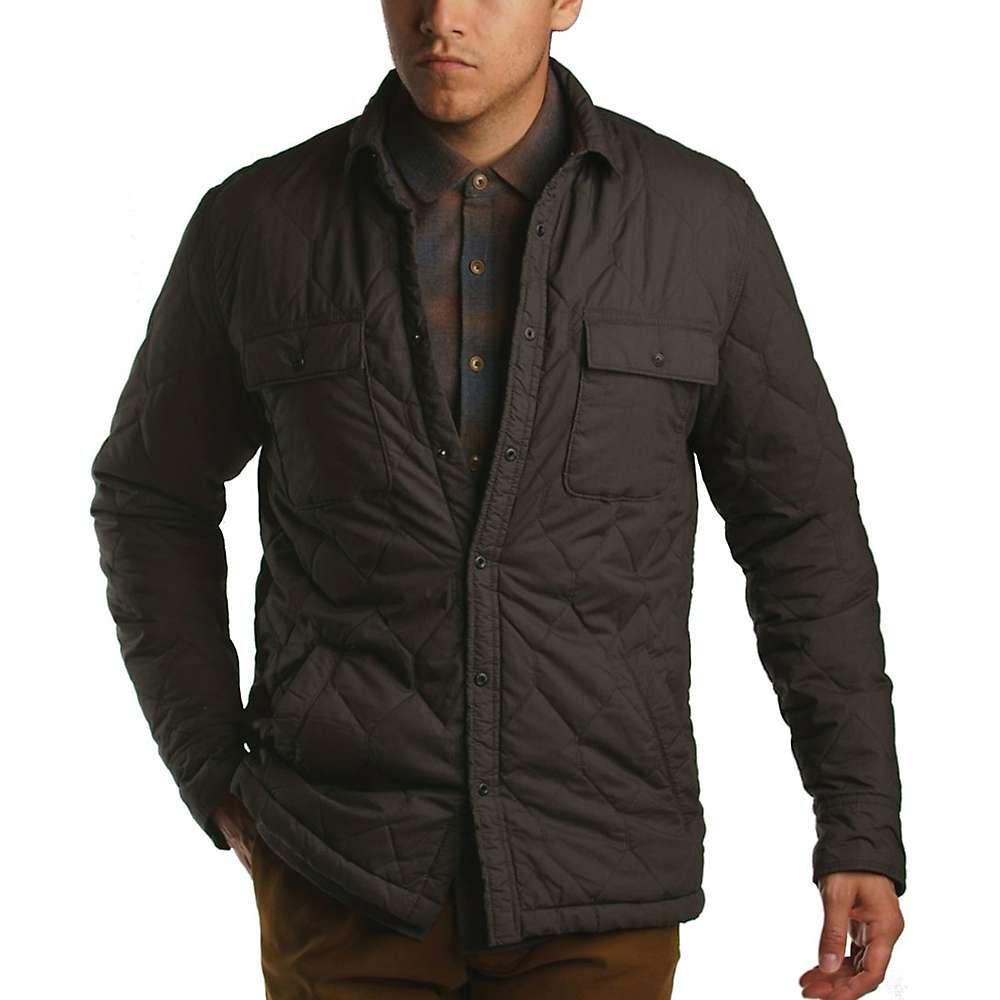 ジェレミア Jeremiah メンズ ジャケット シャツジャケット アウター【pierce quilt shirt jacket】Phantom