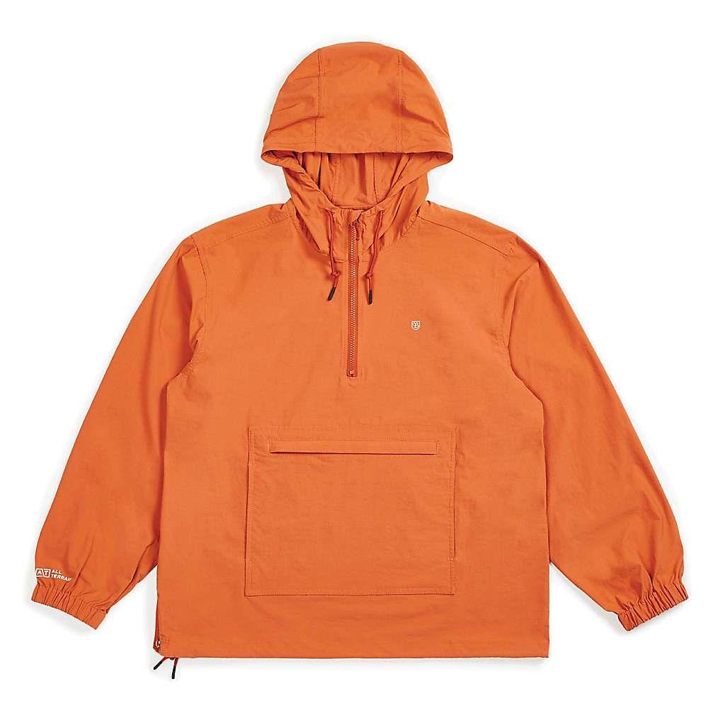 ブリクストン Brixton メンズ ジャケット アノラック アウター【patrol at anorak jacket】BURNT ORANGE