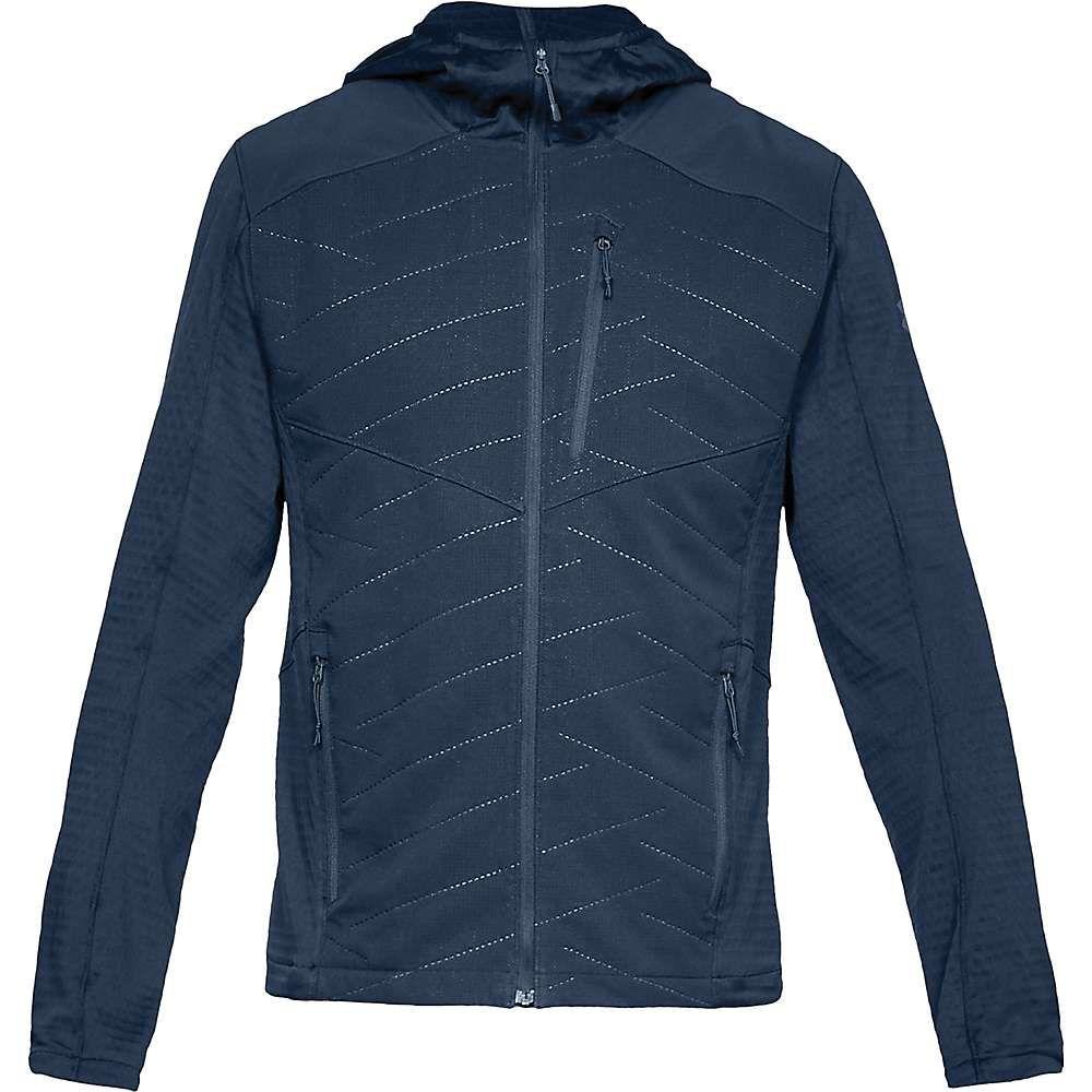 アンダーアーマー Under Armour メンズ ジャケット アウター【ua coldgear exert jacket】Academy/Pitch Gray