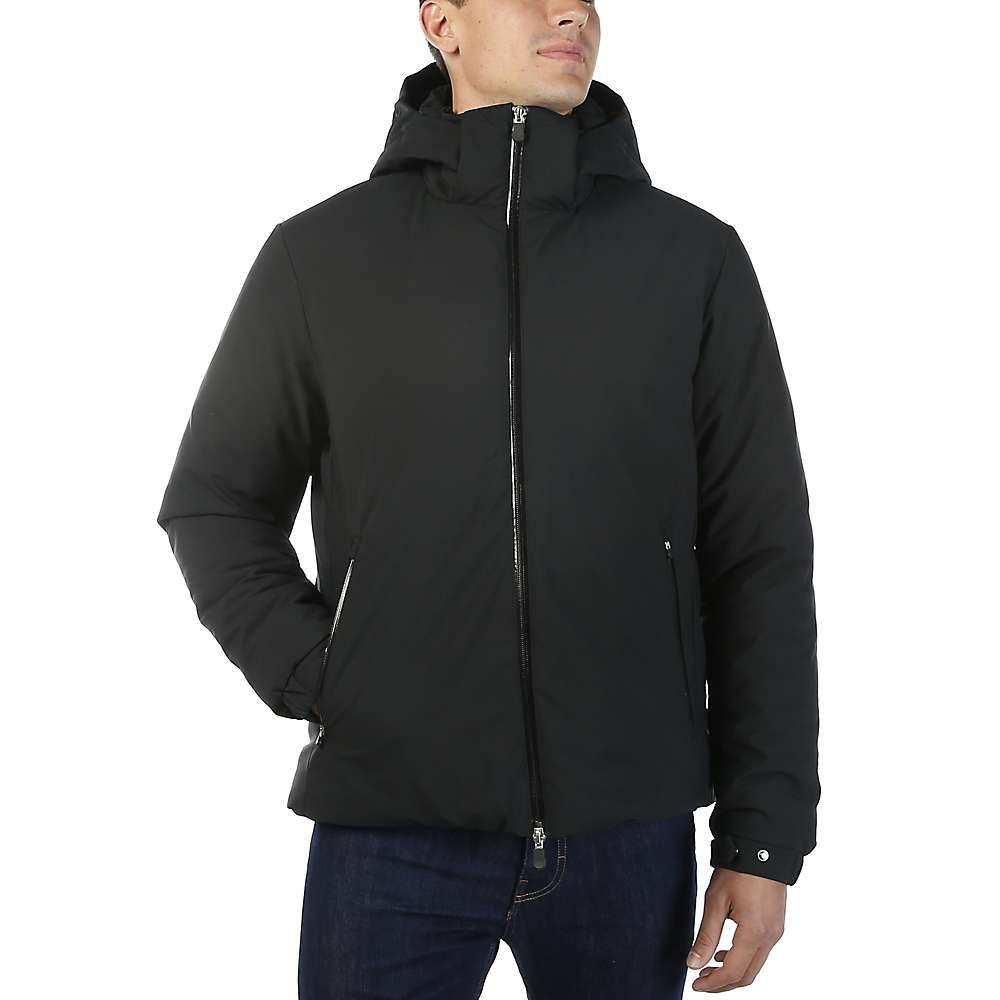 セイブ ザ ダック Save The Duck メンズ ジャケット アウター【signature stretch insulated water resistant jacket】Black
