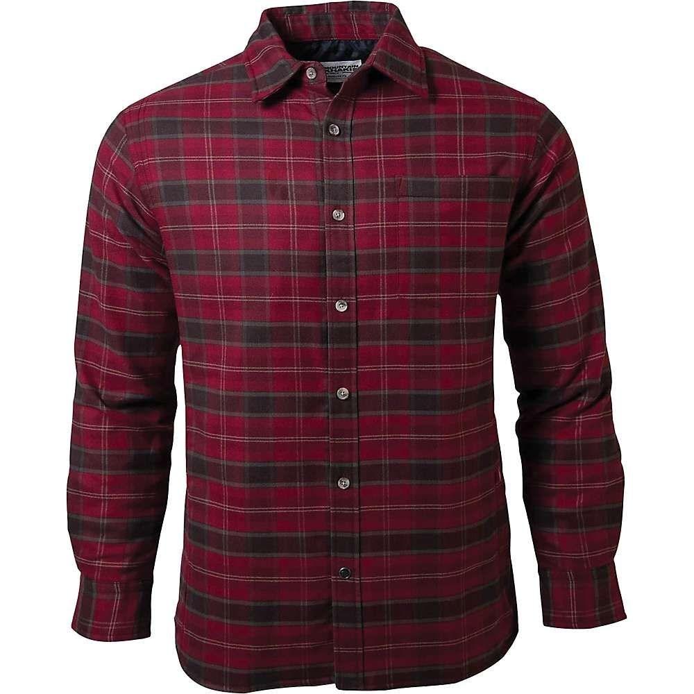 マウンテンカーキス Mountain Khakis メンズ ジャケット アウター【moran insulated shirtjac】Malbec Plaid