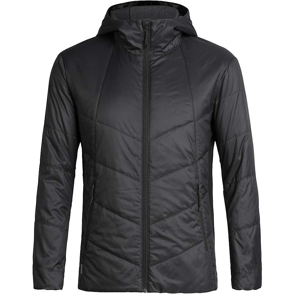 アイスブレーカー Icebreaker メンズ ジャケット フード アウター【helix hooded jacket】Black