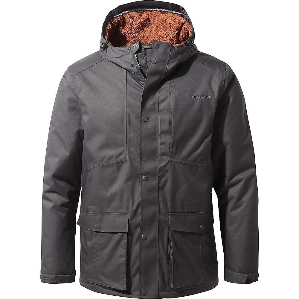 クラッグホッパーズ Craghoppers メンズ ジャケット アウター【kiwi classic thermal jacket】Black Pepper
