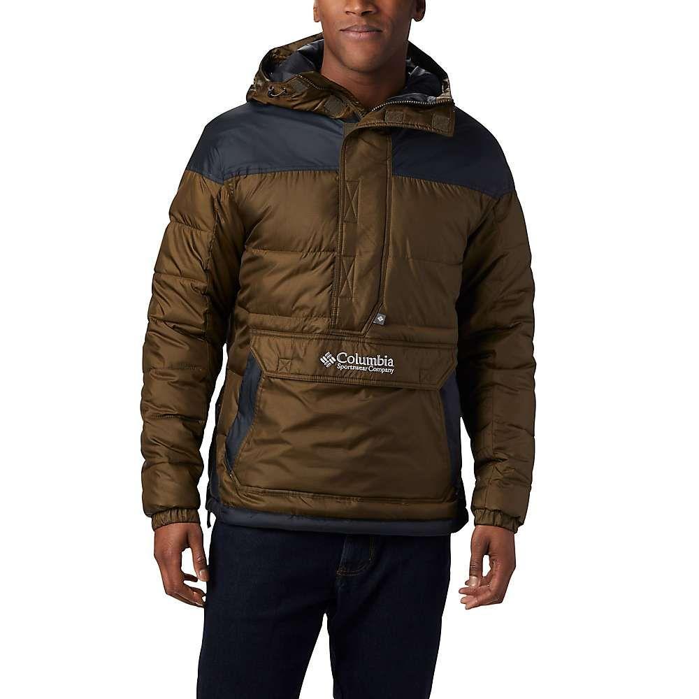 コロンビア Columbia メンズ ジャケット アウター【lodge pullover jacket】Olive Green/Black