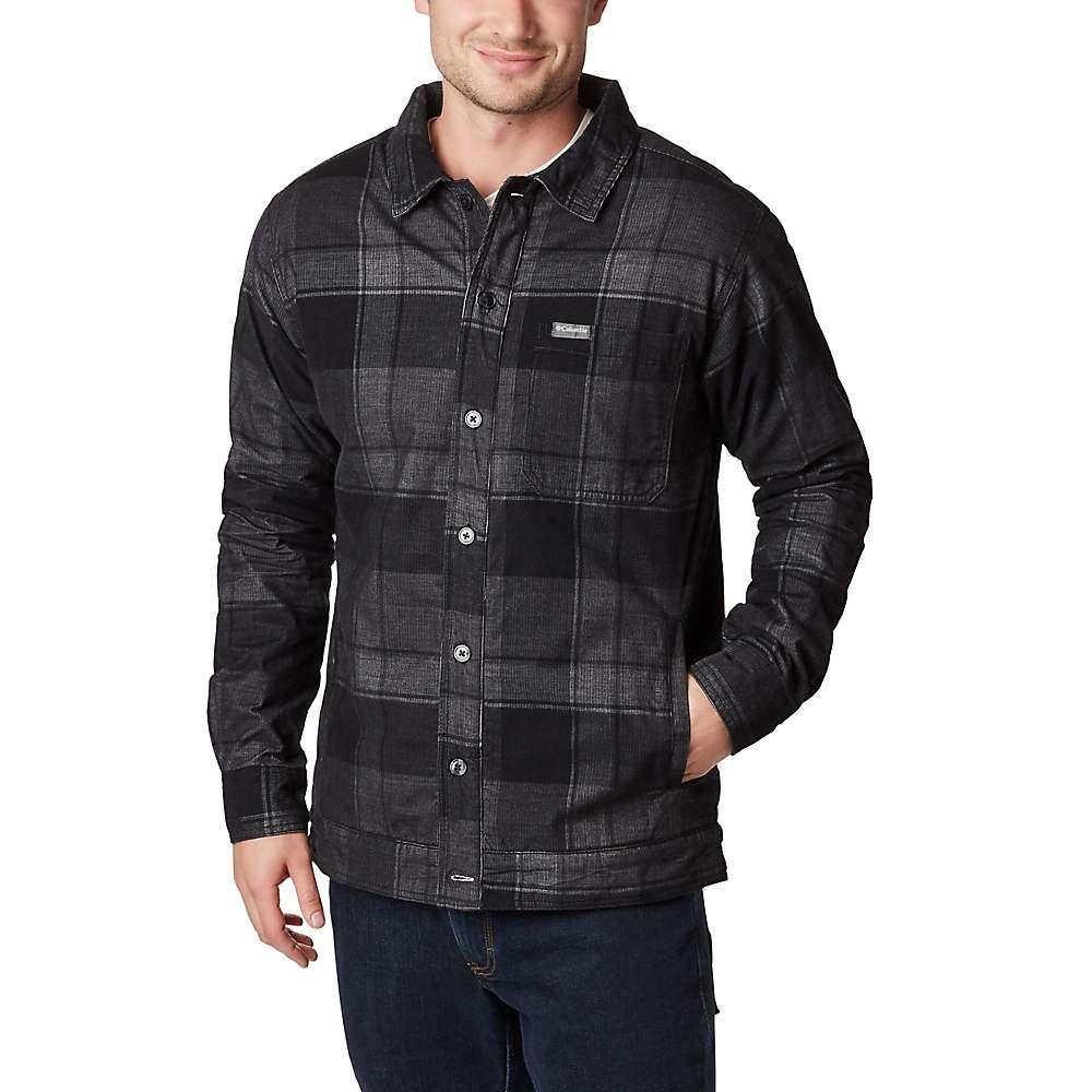コロンビア Columbia メンズ ジャケット シャツジャケット アウター【flare gun shirt jacket】Black Big Check