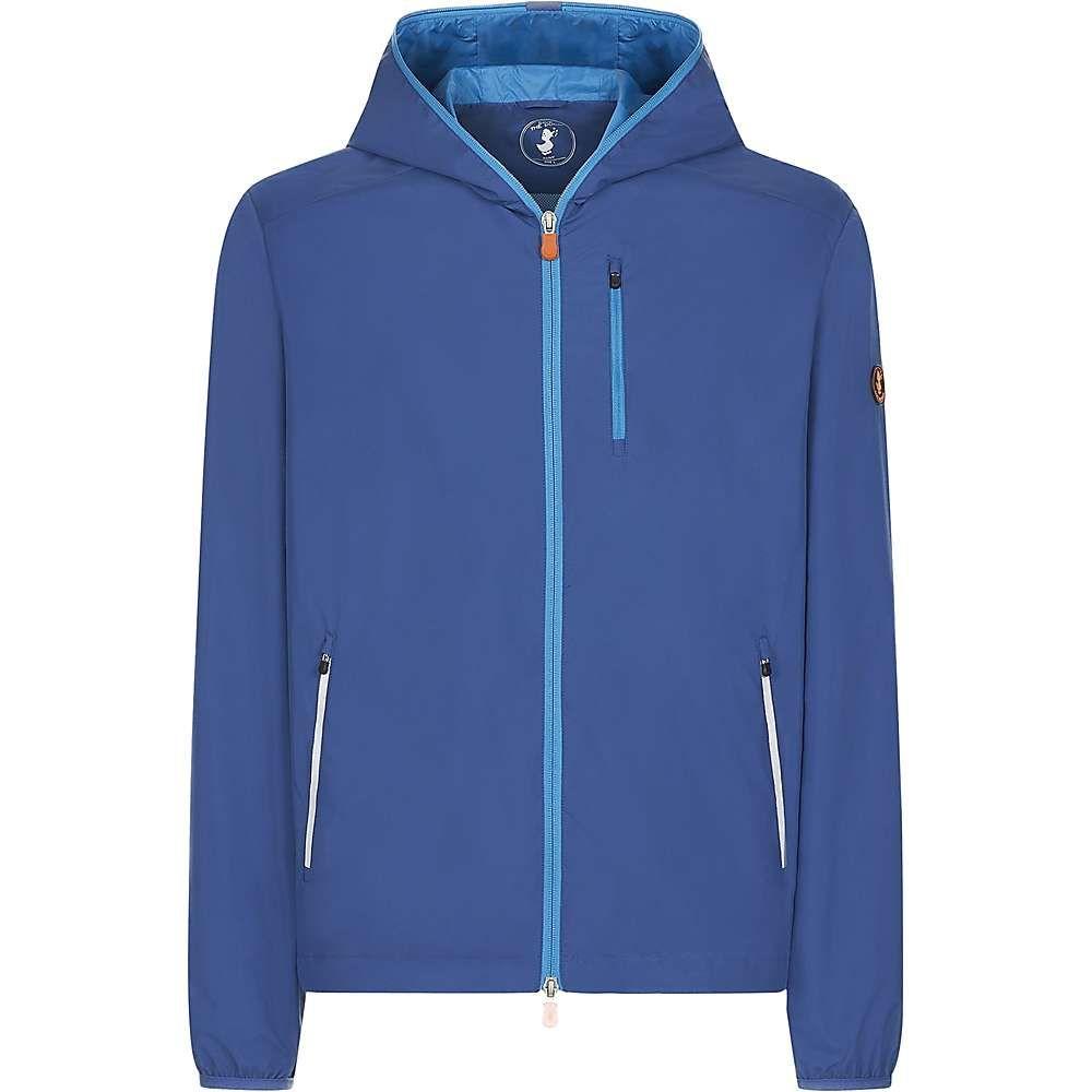 セイブ ザ ダック Save The Duck メンズ ジャケット フード アウター【lightweight hooded jacket】Snorkel Blue