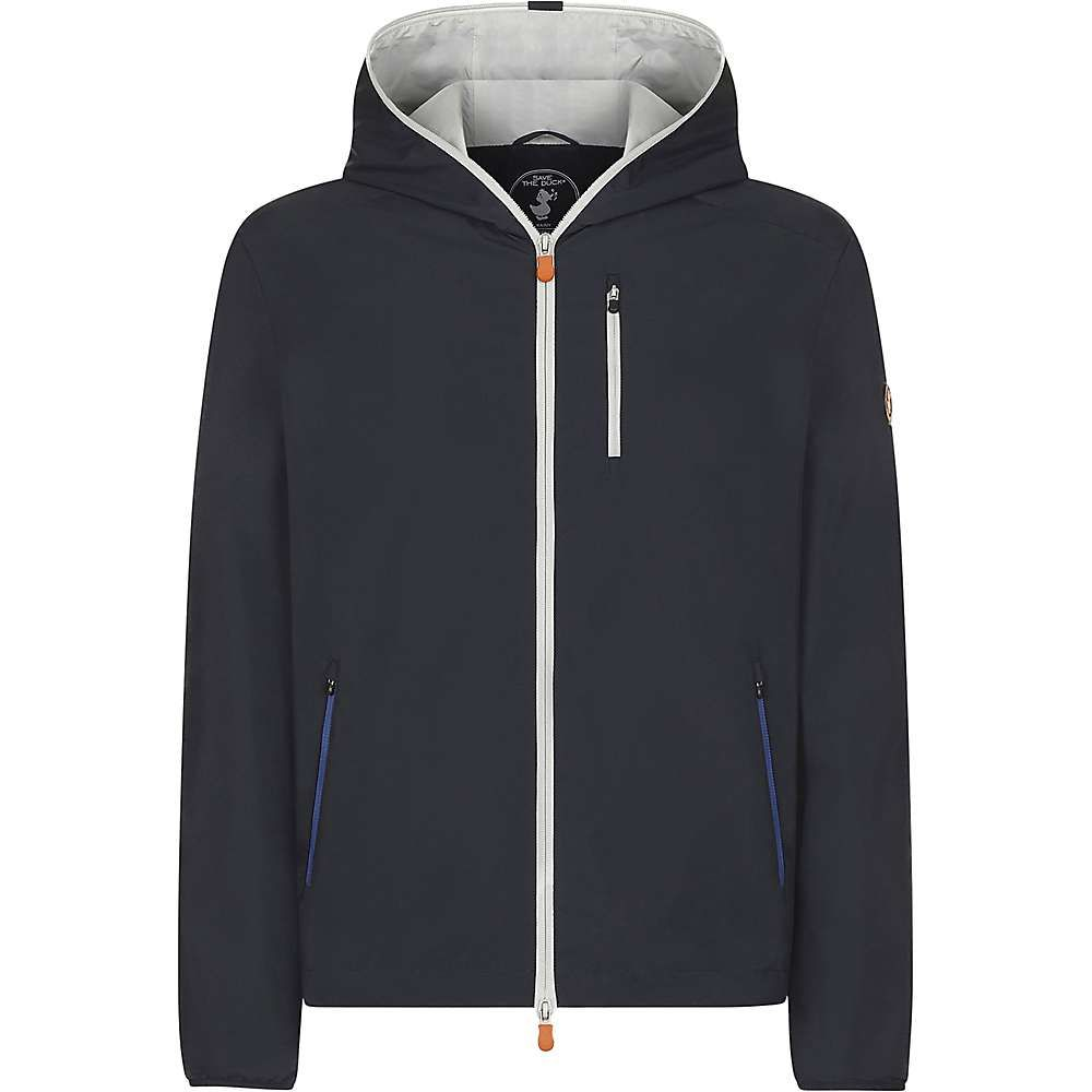 セイブ ザ ダック Save The Duck メンズ ジャケット フード アウター【lightweight hooded jacket】Blue Black