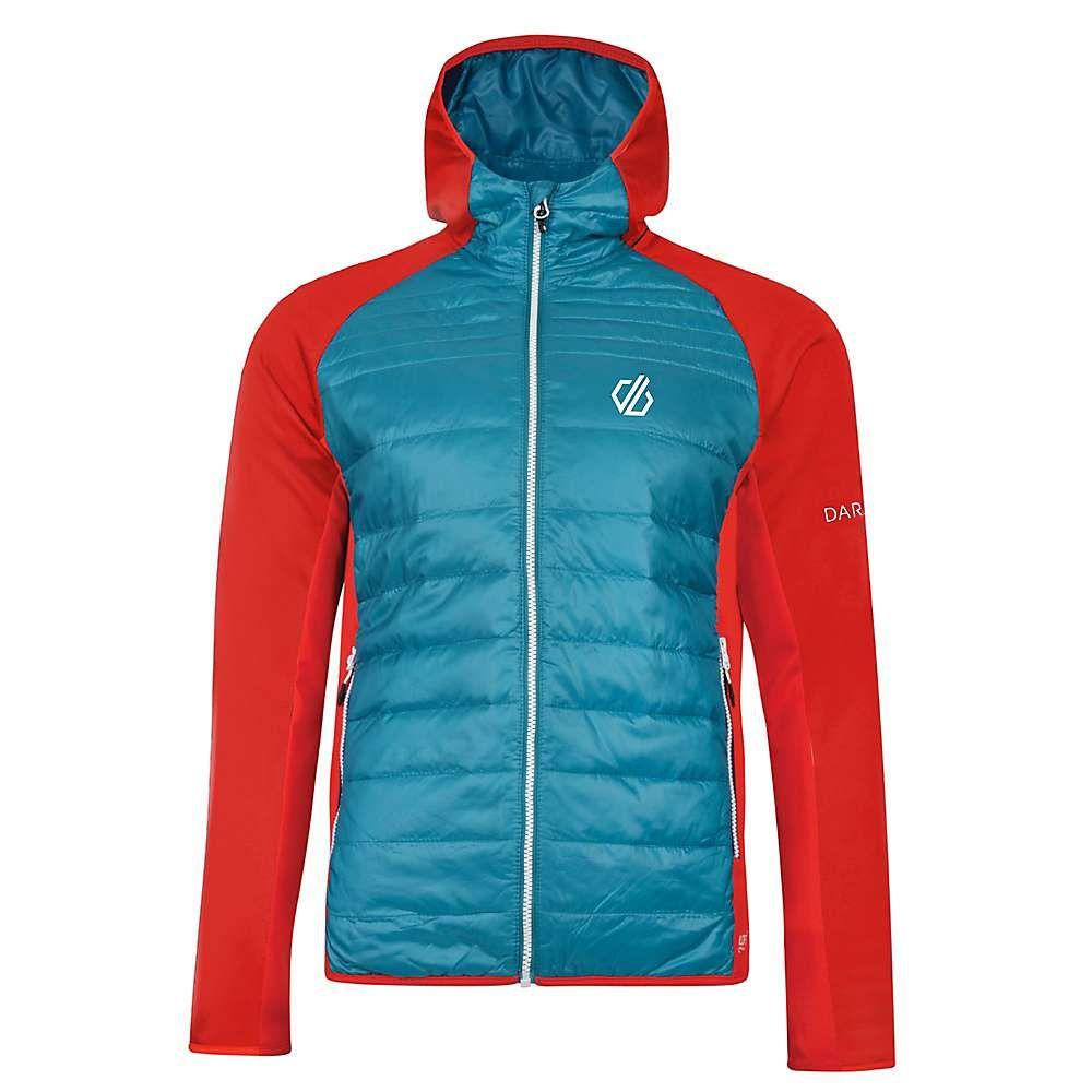デア トゥビー Dare 2B メンズ ジャケット アウター【mountfusion wool hybrid jacket】Ocean Depths/Fiery Red