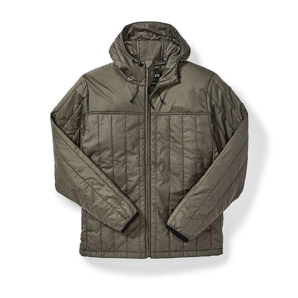 フィルソン Filson メンズ ジャケット フード アウター【ultralight hooded jacket】Olive Grey