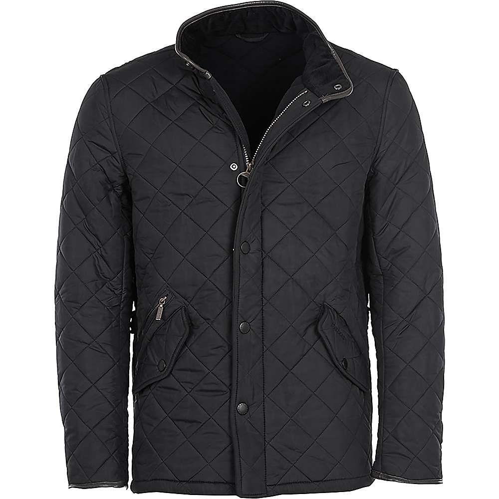 バブアー Barbour メンズ ジャケット アウター【powell quilted jacket】Black