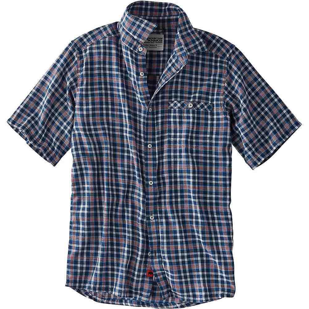 マウンテンカーキス Mountain Khakis メンズ 半袖シャツ トップス【shoreline ss shirt】Twilight