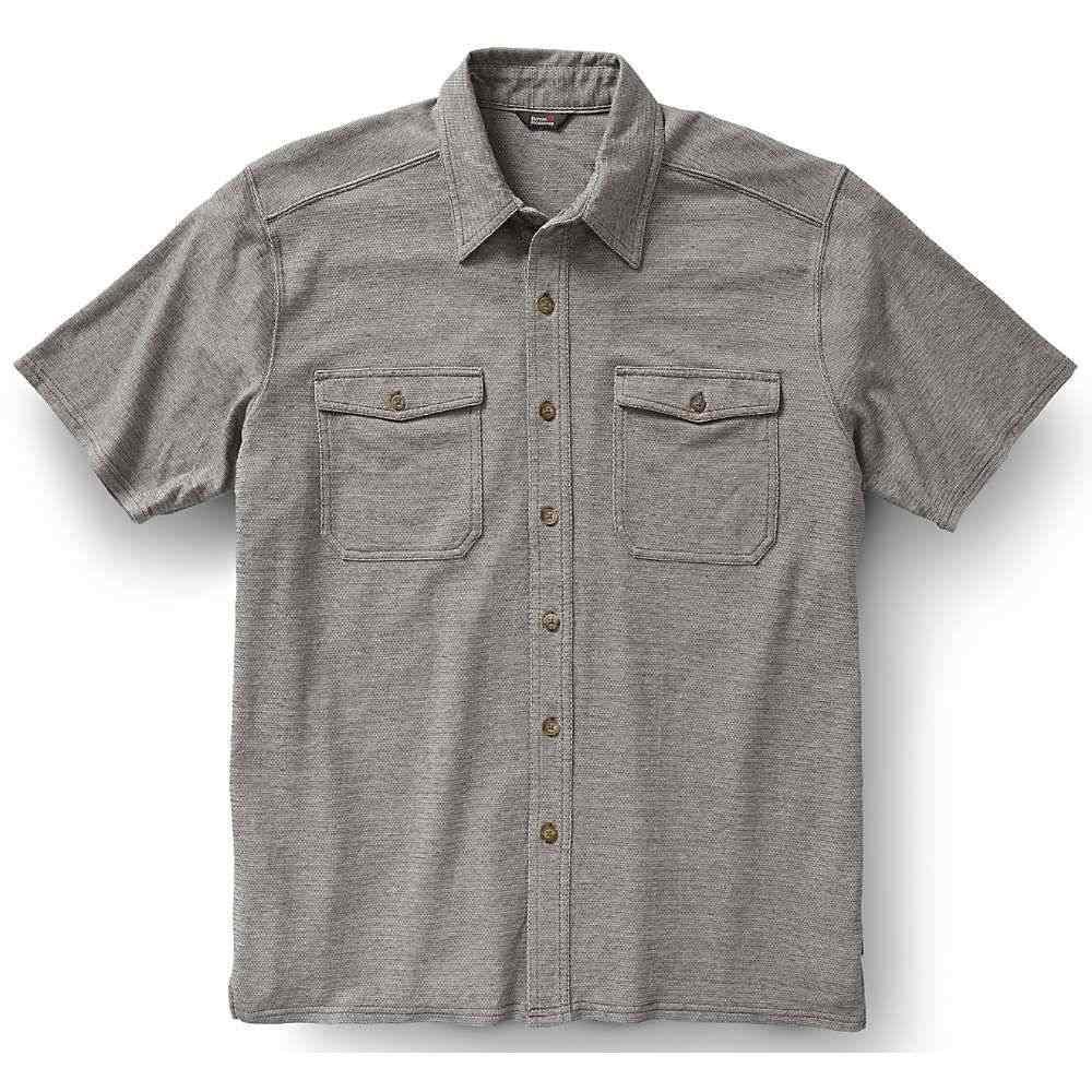 ロイヤルロビンズ Royal Robbins メンズ 半袖シャツ トップス【canamo button front shirt】Pewter