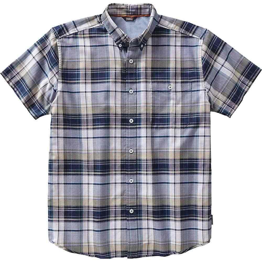 ロイヤルロビンズ Royal Robbins メンズ 半袖シャツ トップス【go everywhere oxford plaid ss shirt】Spanish Moss