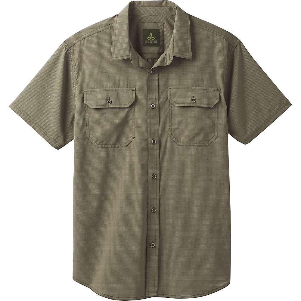 プラーナ Prana メンズ 半袖シャツ トップス【cayman ss shirt】Cargo Green
