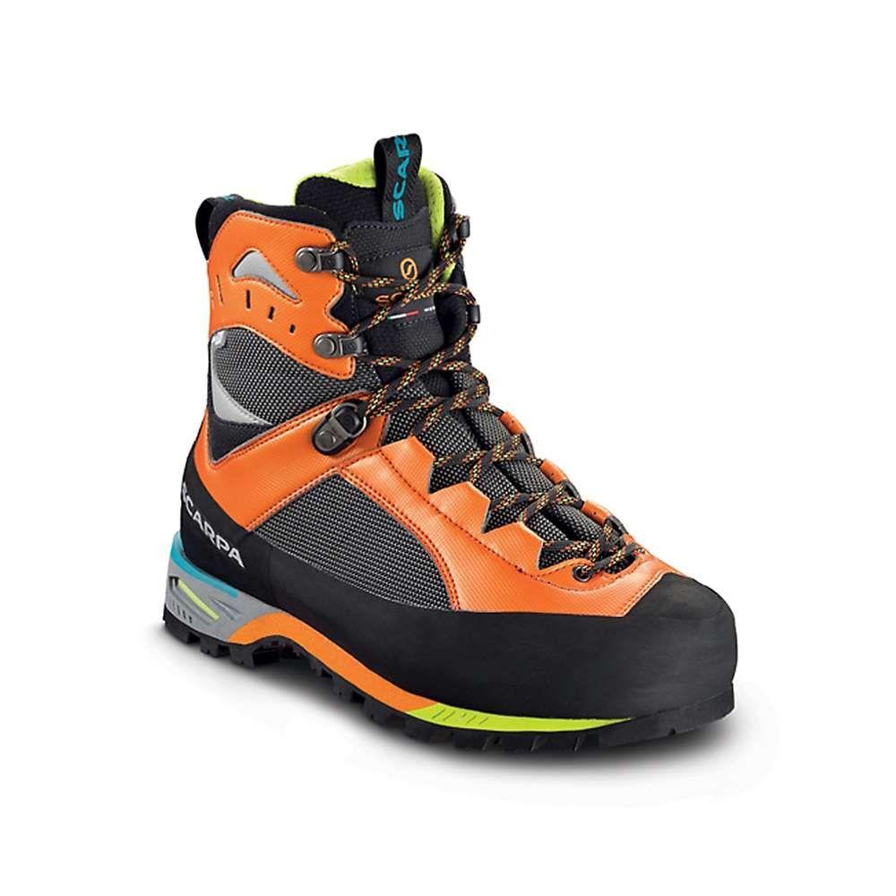 スカルパ メンズ ハイキング・登山 シューズ・靴 Shark/Orange 【サイズ交換無料】 スカルパ Scarpa メンズ ハイキング・登山 ブーツ シューズ・靴【charmoz boot】Shark/Orange