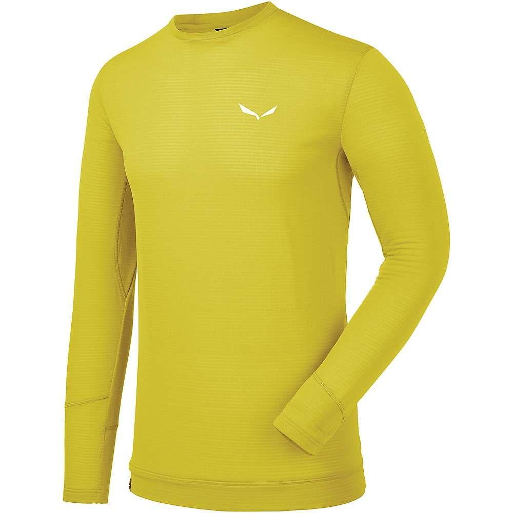 サレワ Salewa メンズ フィットネス・トレーニング Tシャツ トップス【pedroc ptc ls tee】Kamille Yellow