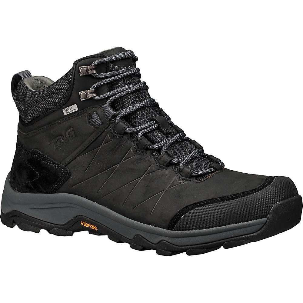 テバ Teva メンズ ハイキング・登山 ブーツ シューズ・靴【arrowood riva mid waterproof boot】Black