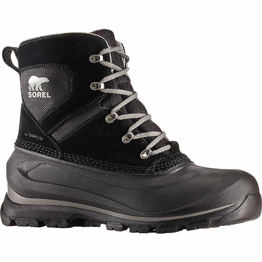 ソレル Sorel メンズ ハイキング・登山 ブーツ シューズ・靴【buxton lace boot】Black/Quarry