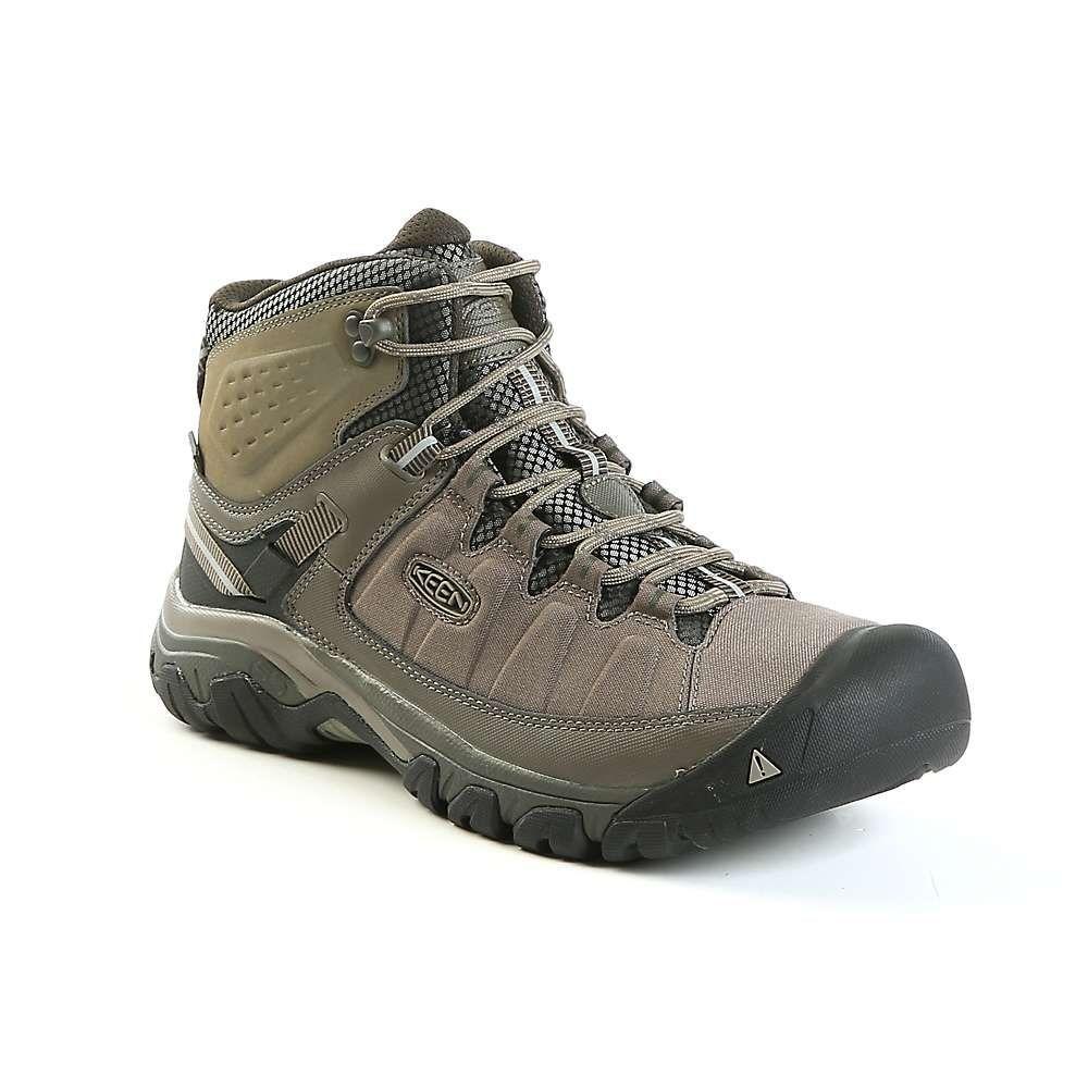 キーン Keen メンズ ハイキング・登山 シューズ・靴【targhee exp mid waterproof shoe】Bungee Cord/Brindle