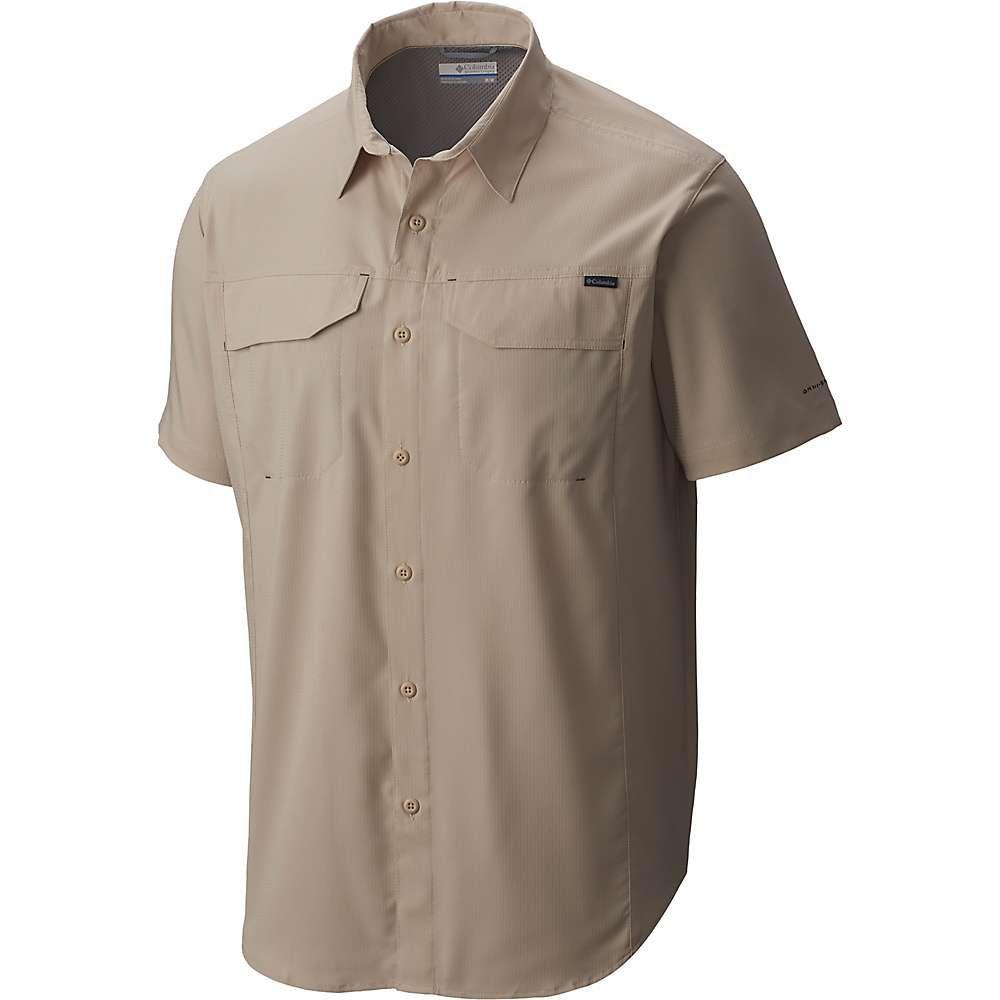 コロンビア メンズ 祝日 ハイキング 登山 トップス Fossil サイズ交換無料 半袖シャツ silver ridge ss shirt lite 正規品送料無料 Columbia