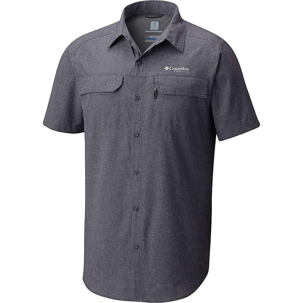コロンビア Columbia メンズ ハイキング・登山 半袖シャツ トップス【irico ss shirt】Graphite Heather