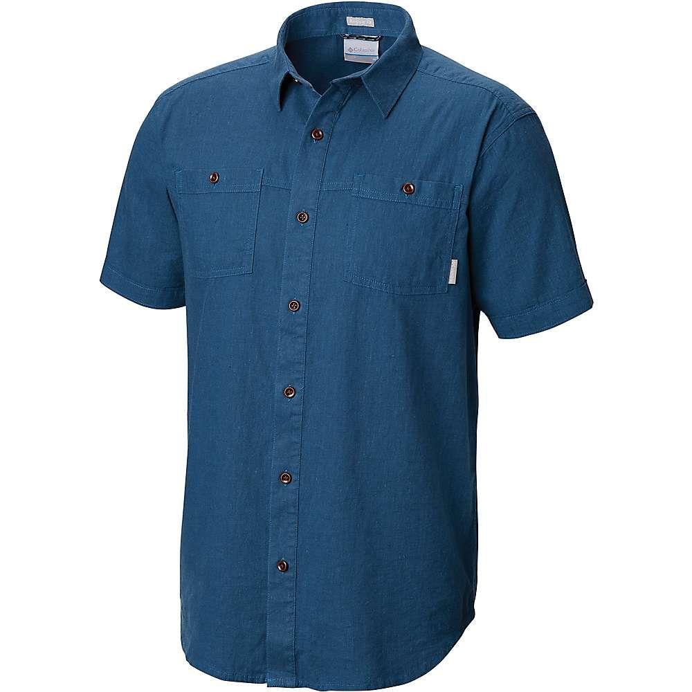 コロンビア Columbia メンズ 半袖シャツ トップス【southridge ss shirt】Impulse Blue