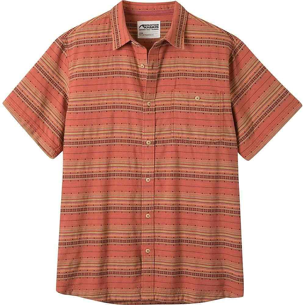 マウンテンカーキス Mountain Khakis メンズ 半袖シャツ トップス【horizon ss shirt】Rojo