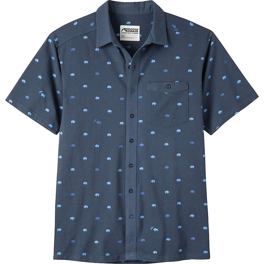 マウンテンカーキス Mountain Khakis メンズ 半袖シャツ トップス【tatanka ss shirt】Twilight Print