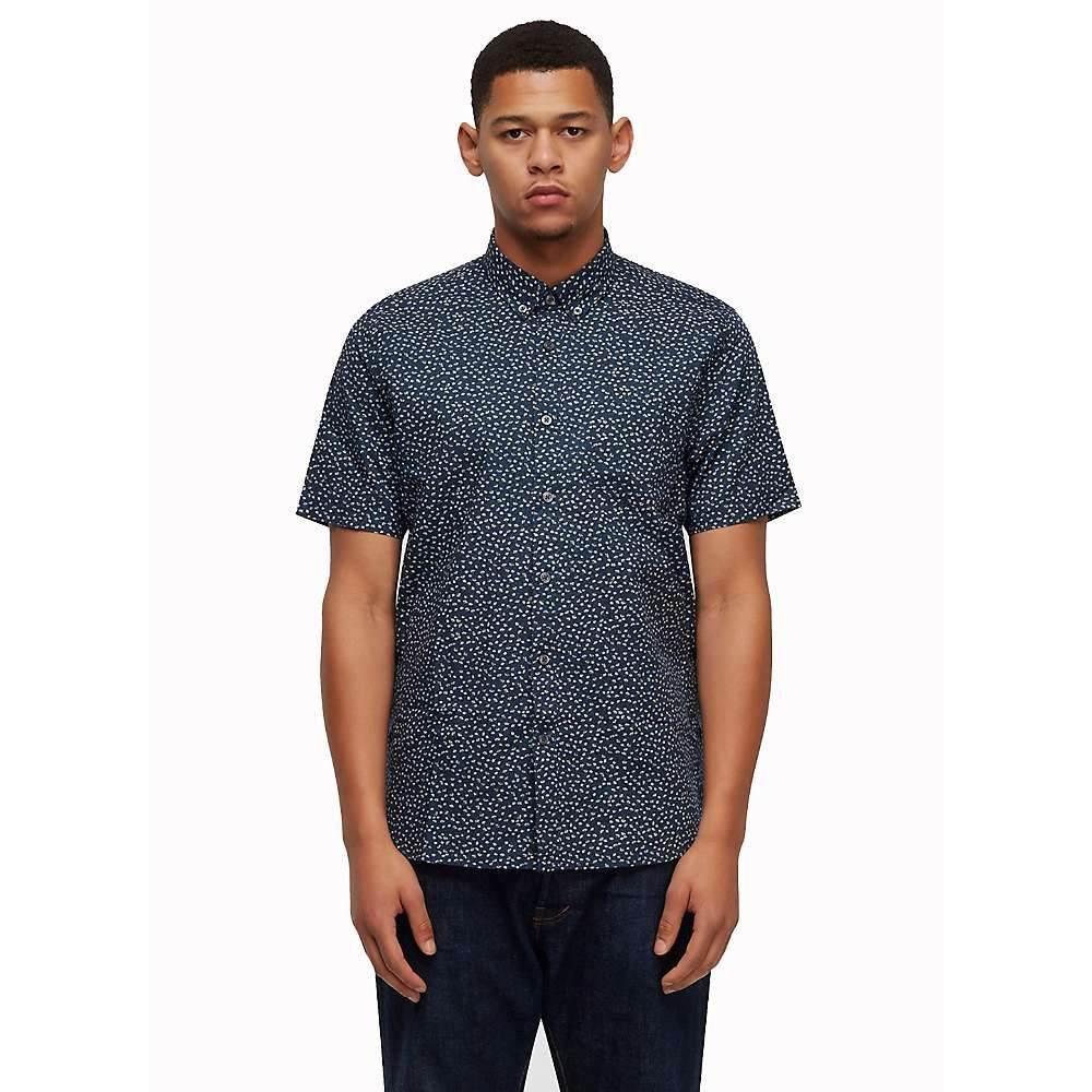 ペンフィールド Penfield メンズ 半袖シャツ トップス【allerton shirt】Navy
