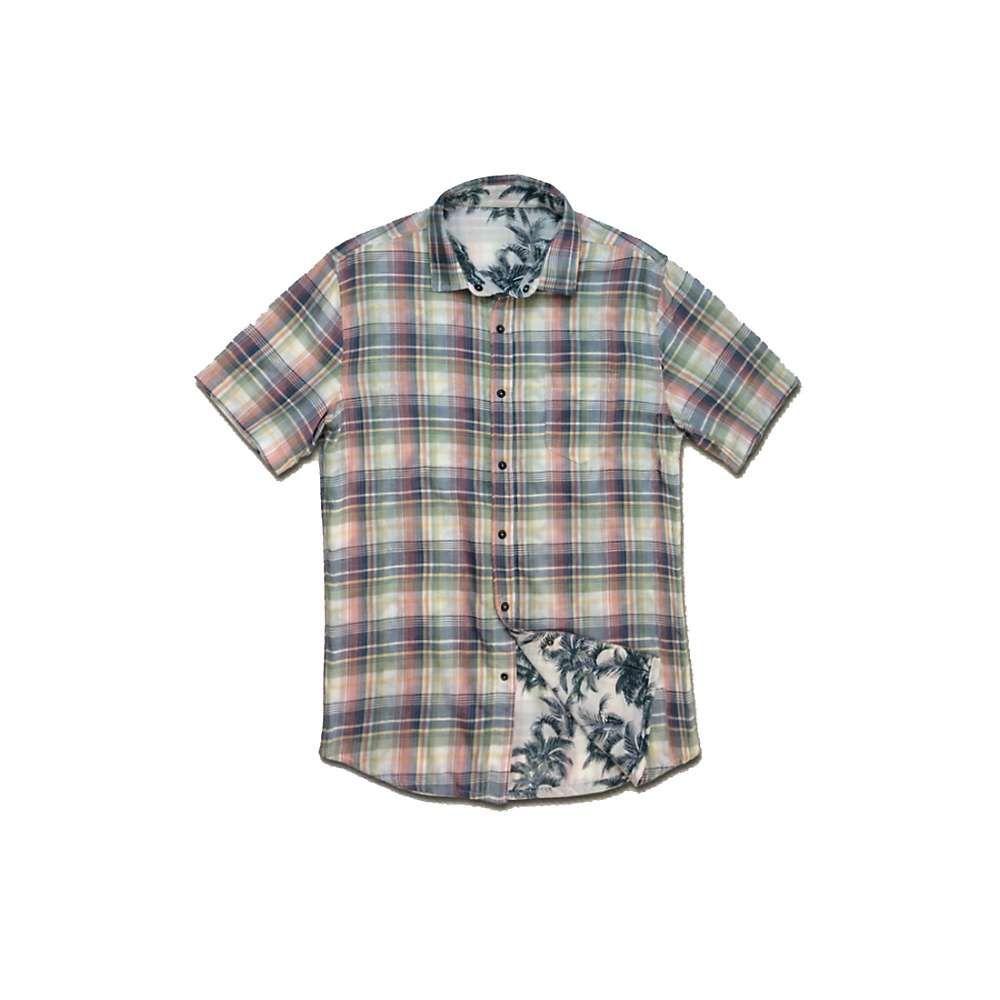 ジェレミア Jeremiah メンズ 半袖シャツ トップス【carlsbad reversible plaid print shirt】Mission
