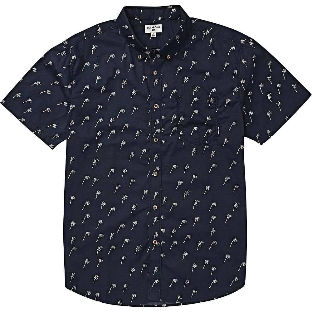 ビラボン Billabong メンズ 半袖シャツ トップス【sundays mini ss shirt】Navy BSM