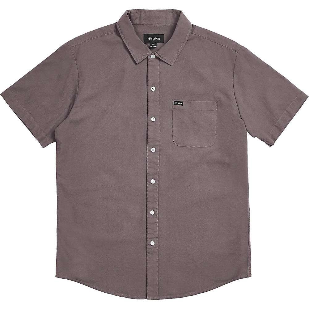 ブリクストン Brixton メンズ 半袖シャツ トップス【charter oxford ss shirt】Charcoal