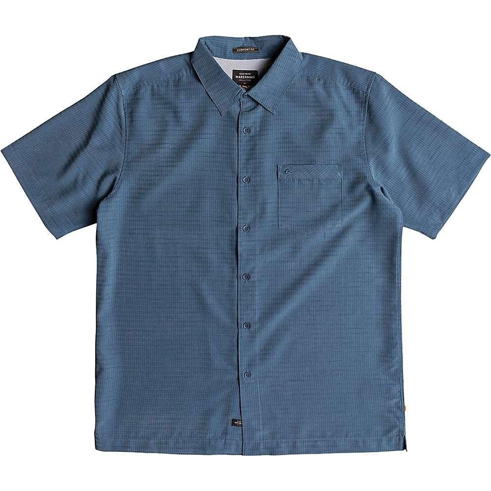 クイックシルバー Quiksilver メンズ 半袖シャツ トップス【centinela 4 shirt】Dark Denim:フェルマート