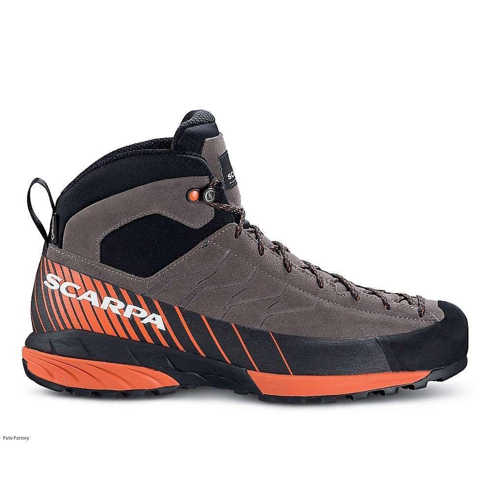 スカルパ Scarpa メンズ クライミング シューズ・靴【mescalito mid gtx boot】Charcoal/Tonic