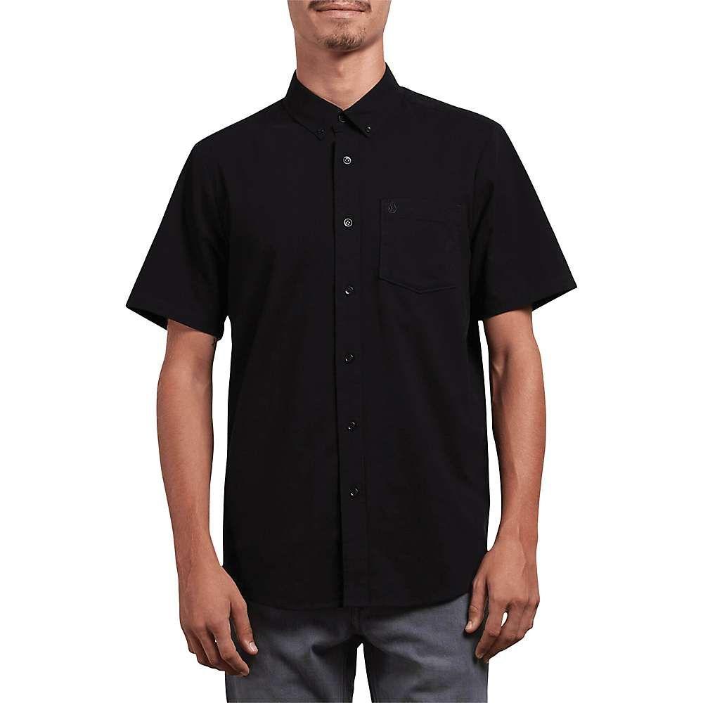 ボルコム Volcom メンズ 半袖シャツ トップス【everett oxford ss shirt】Black