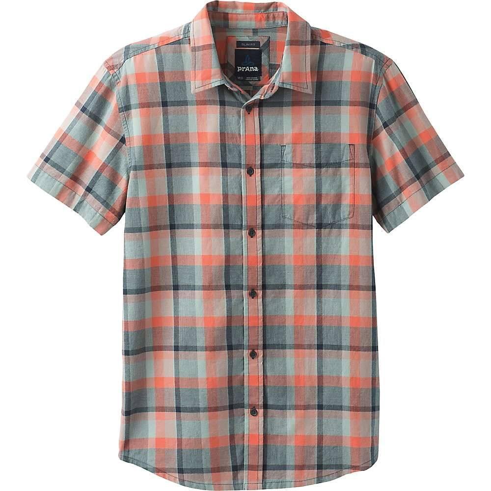 プラーナ Prana メンズ 半袖シャツ トップス【bryner shirt - standard】Agave