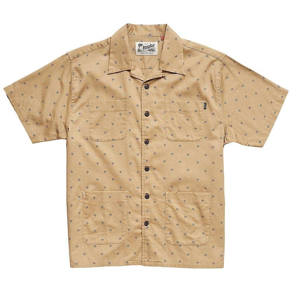 ホウラーブラザーズ Howler Brothers メンズ 半袖シャツ トップス【sunset scout shirt】Arrowhead Print Dress Khaki