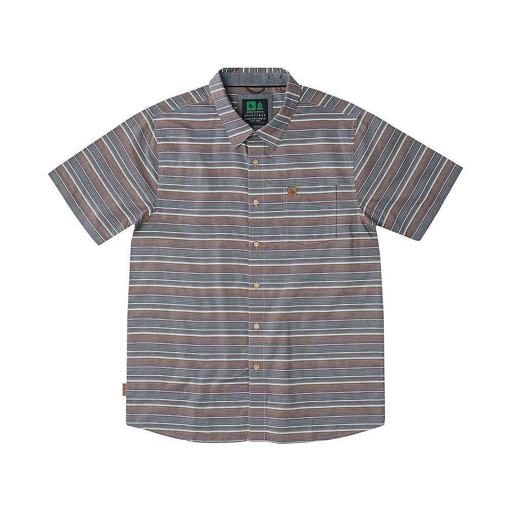 ヒッピーツリー HippyTree メンズ 半袖シャツ トップス【montauk woven shirt】BROWN