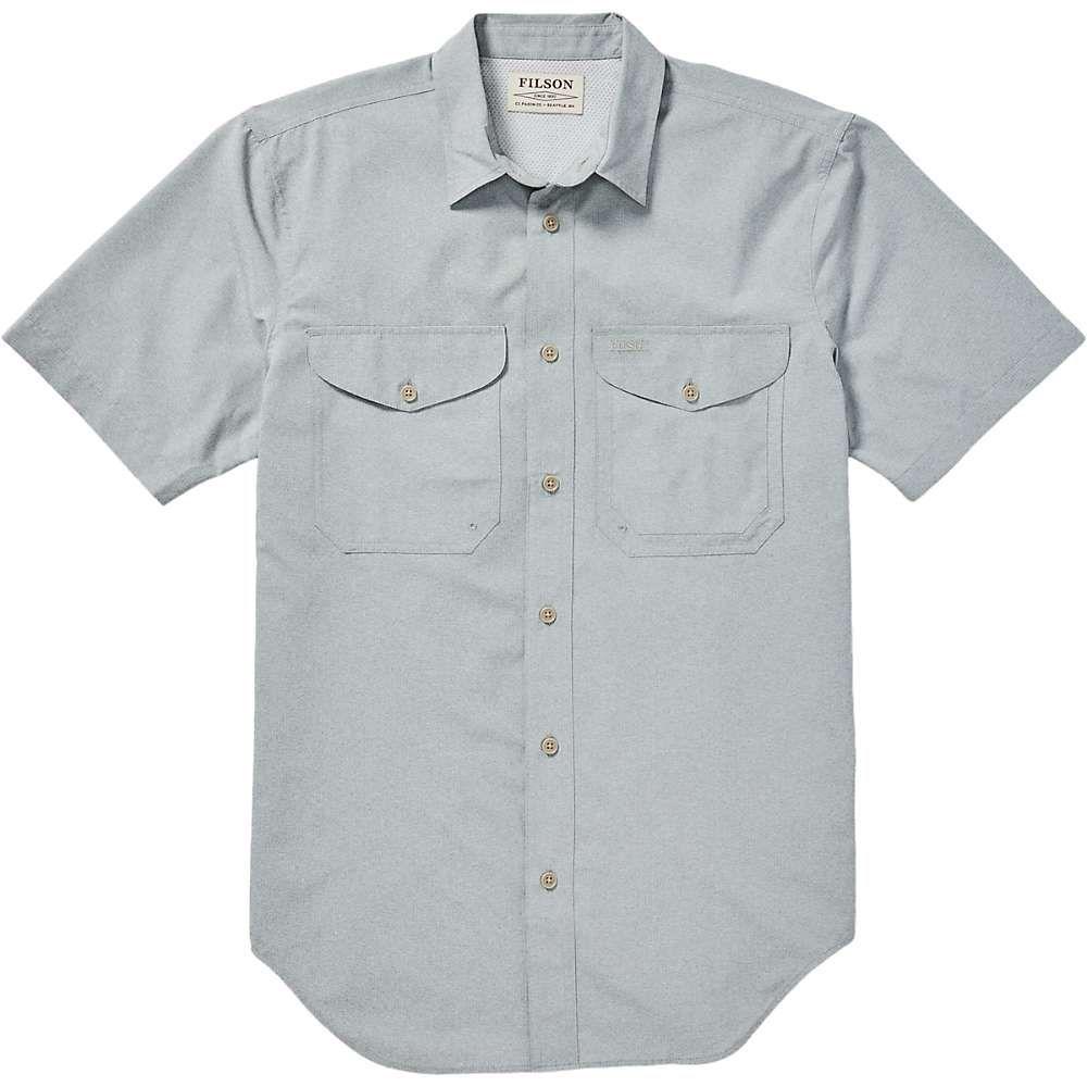 フィルソン Filson メンズ 半袖シャツ トップス【twin lakes ss sport shirt】Mint Grey